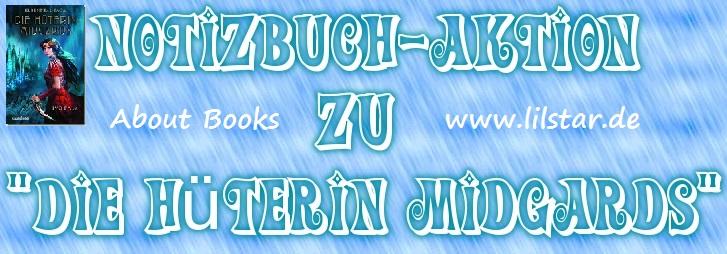 """Notizbuch-Aktion """"Die Hüterin Midgards"""""""