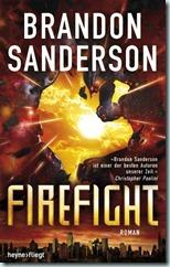Firefight von Brandon Sanderson aus dem Heyne fliegt Verlag