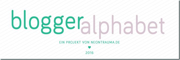 Blogger-Alphabet
