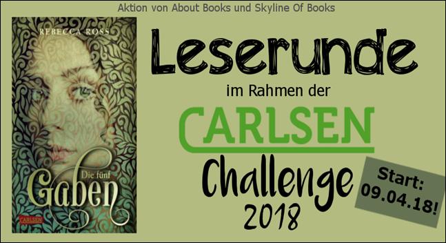 Carlsen Challenge 2018-leserunde01 die fünf gaben